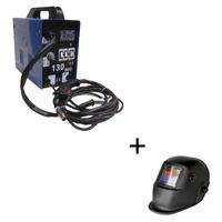 Máquina Mig 130 Sem gás 220v + mascara Automática