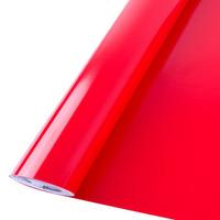 Adesivo vermelho para farol e lanterna Larg. 1,00 m