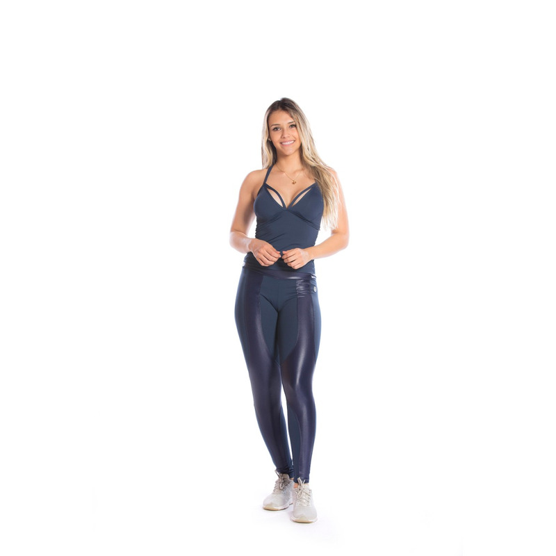 Legging Recorte Frontal Light Plus