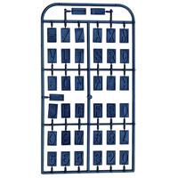 Stencil de Gravação para Dispositivo - GE Letras e Números - 27104 - Proxxon