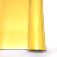 Filme para estampa - power film (pvc) larg. 0,50 m amarelo