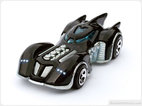 Hot Wheels 2011 Batman Arkham Asylum Batmobile Hw Premiere Original