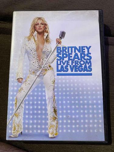 Dvd Britney Spears - Live From Las Vegas Edição Bmg Original