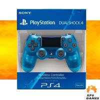 Controle Dual Shock 4 Azul Cristal - PS4