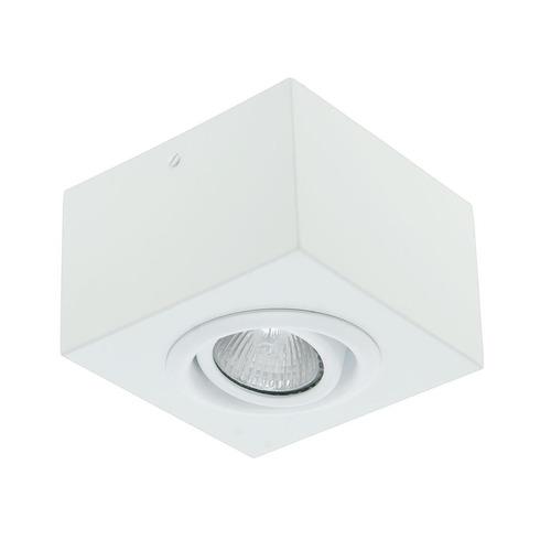 Plafon Spot Sobrepor Aço Com Lâmpada Dicroica Gu10 Led