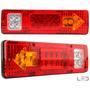 Par Lanternas Led Caminhão Volvo Fh 540 460 Scania R450 12v