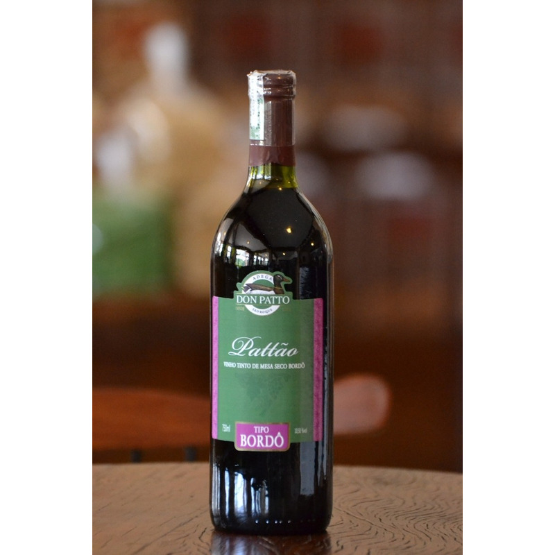 Vinho Tinto Seco Bordô 750ml - Don Patto