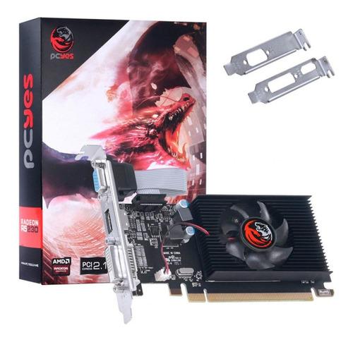 Placa De Vídeo Amd Pcyes Radeon R5 200 Series R5 230 Original