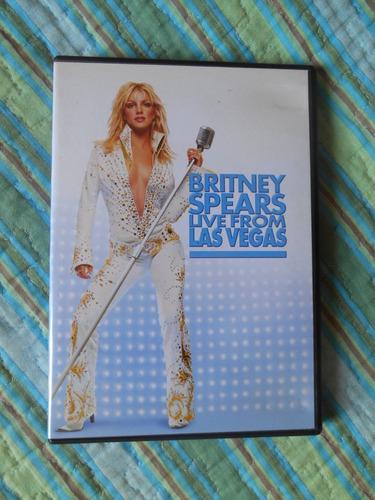 Dvd Britney Spears Live From Las Vegas- Envio Por Cr 12,90 Original
