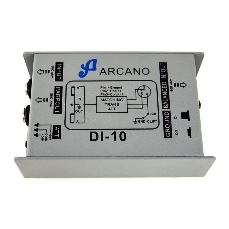 DIRECT BOX PASSIVO ARCANO DI-10 MELHOR CUSTO X BENEFICIO DO