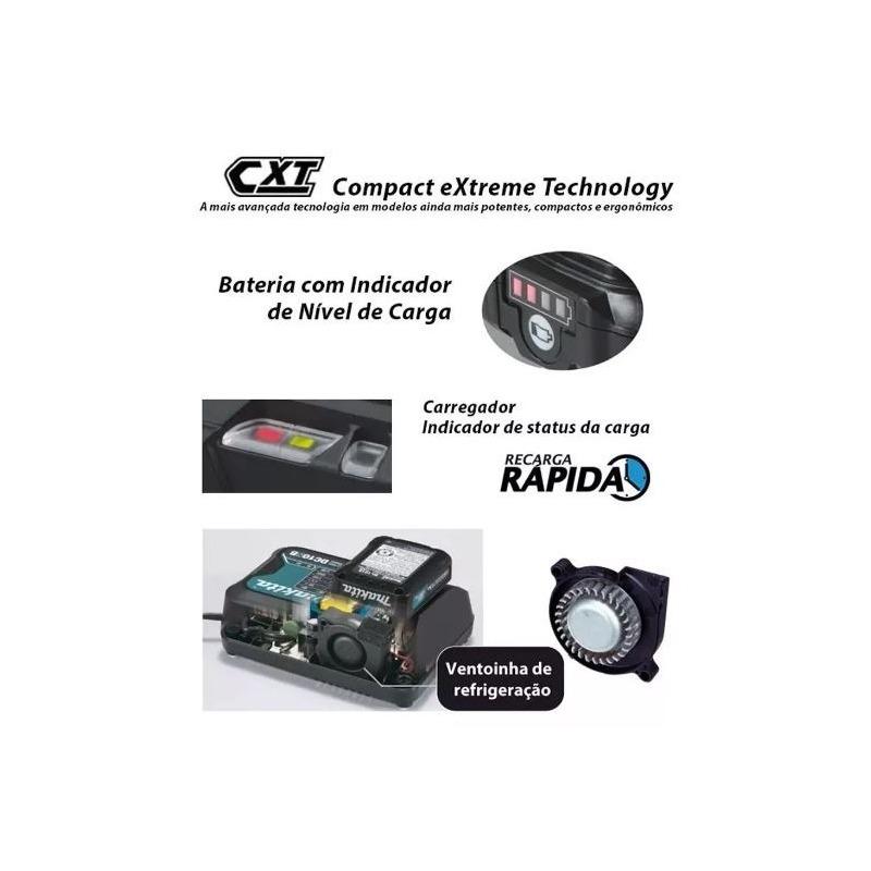 Combo Furadeira HP331D + Parafusadeira TD110D + Bits CLX202SAX-P - Makita
