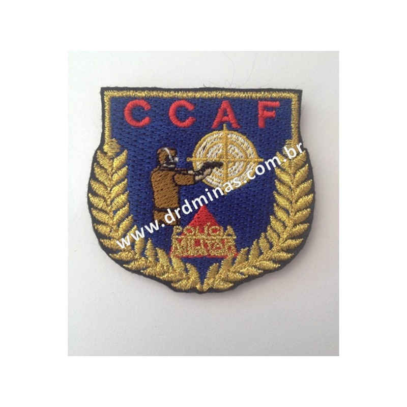 Distintivo Bordado CCAF
