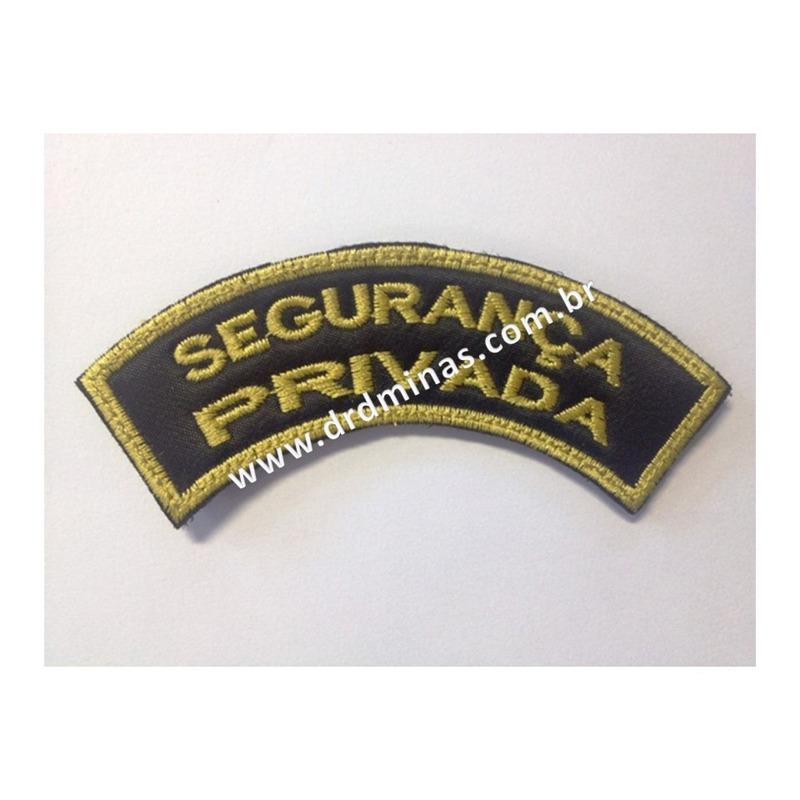 Patch / Distintivo Bordado Segurança Privada - II - U