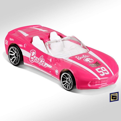 Hot Wheels Corvette Stingray Rosa Barbie 273/2018 Lacrada Original