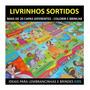 50 Livrinhos Colorir Infantil Revistinha Atividades Brincar