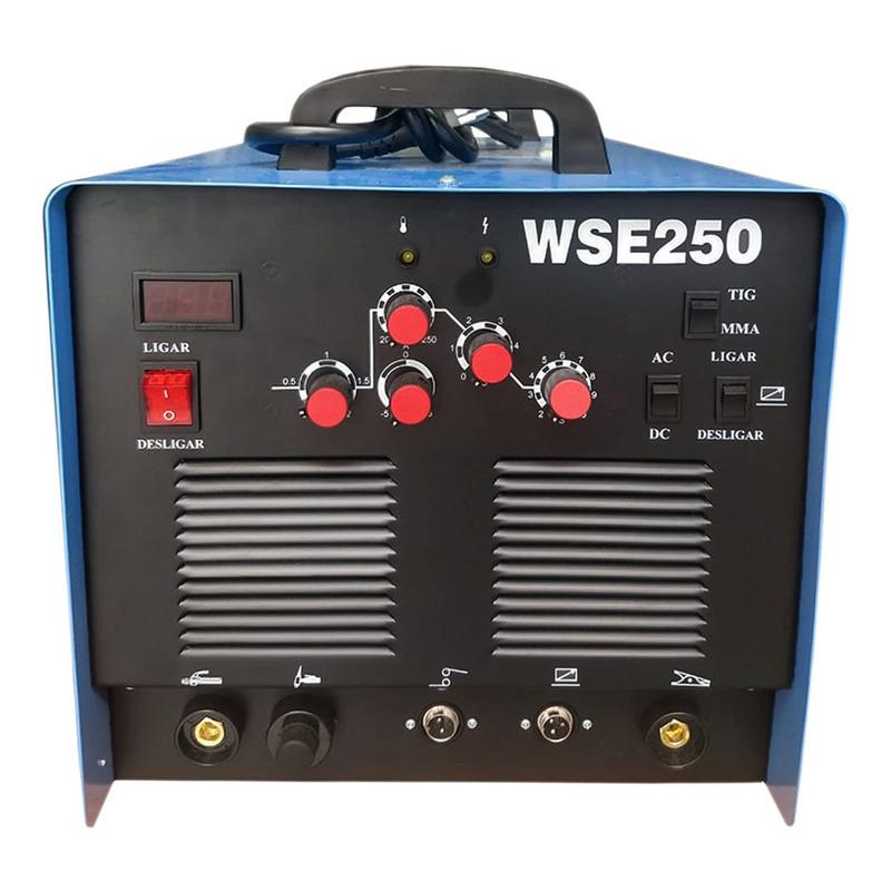 INVERSORA TIG A/ F WSE250 AC/DC 220V WW SOLDAS