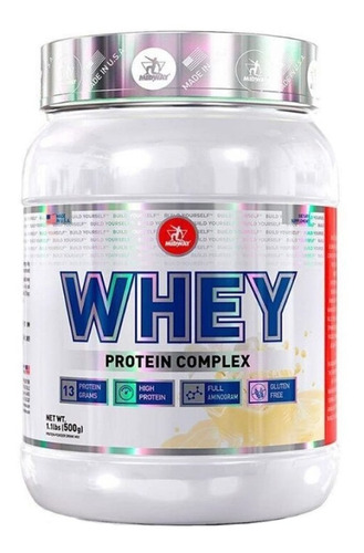Whey Protein 500g - Midway - Whey Protein Concentrado Original