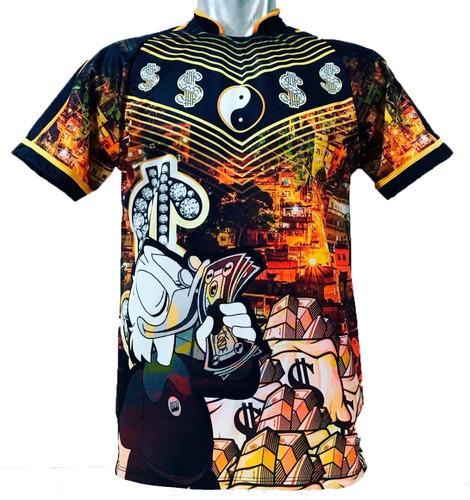 Camisa/camiseta Pousadão Milionário - Tio Patinhas - Cifrão Original