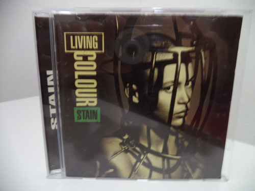 Cd Living Colour - Stain (imp) 1993 Original