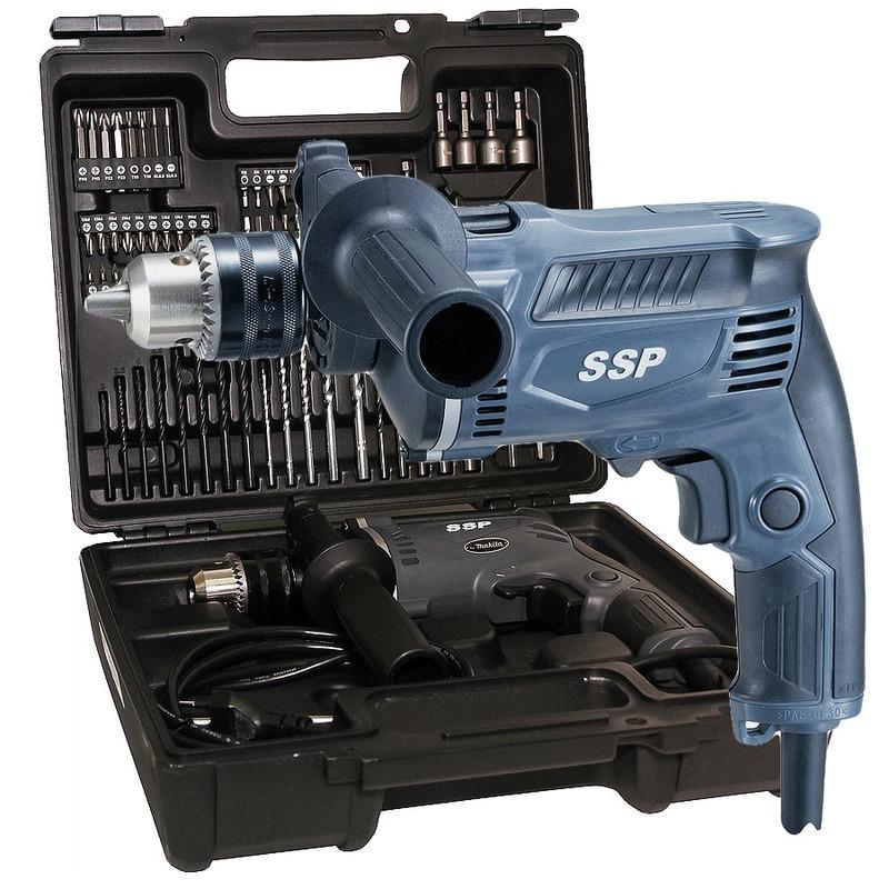 Kit Furadeira de Impacto 13mm 430W + Maleta de Acessórios - MHP132X100 - Makita