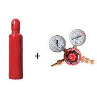 Kit -cilindro Novo De Acetileno 1kg + Regulador De Acetileno