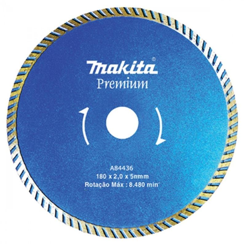 Disco Diamantado 180mm Makita p/ Mármore-Granito a Água-Seco