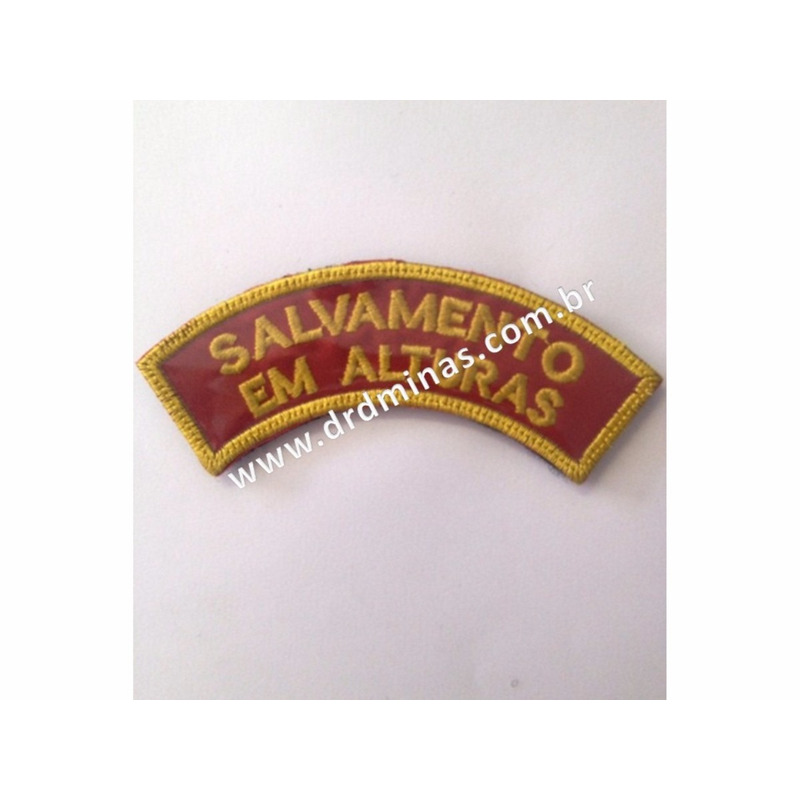 Patch / Distintivo Bordado  Salvamento em Altura - I