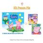 Kit Peppa Pig Livro Teatro 2 Livros Cartonados