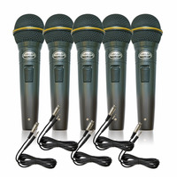 Kit Com 05 Microfones Sincler S-pl-58b