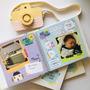 Álbum Diário Do Bebê Rosa Plaquinhas Melhores Momentos