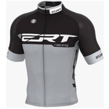 Camisa Ciclismo Mtb Ert Elite Racing Cinza