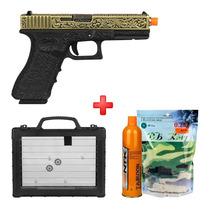 Busca Pistola Airsoft GBB WE Glock G26C Advance Semi-metal a