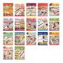 17 Revistas Ponto De Cruz & Crochê Banho Ed. Central Lote 1