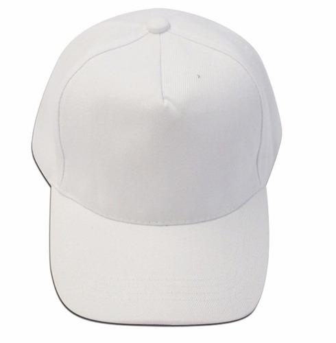 03pçs Bone Branco Com Aba Fecho Traseiro Confort Line 5g à venda em ... c8f0c9587d7