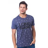 Camiseta Long Island FLW Marinho