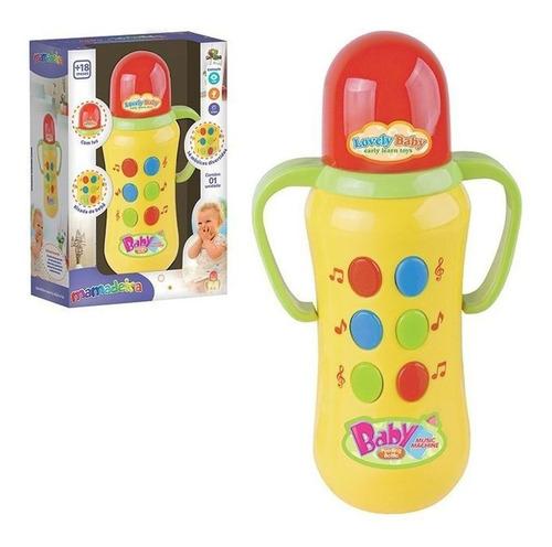Brinquedo Infantil Mamadeira Musical Divertidas E Luz Novo Original