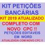 Kit Petições Bancário Atualizado 2019 Frete Grátis