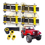 Kit 4 Jumelo Alto 4 Bucha Jumelo Algema Jeep Willys, Cj5