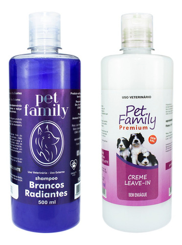 Combo Shampoo E Condicionador Pet Matizador + Leave In 500ml Original