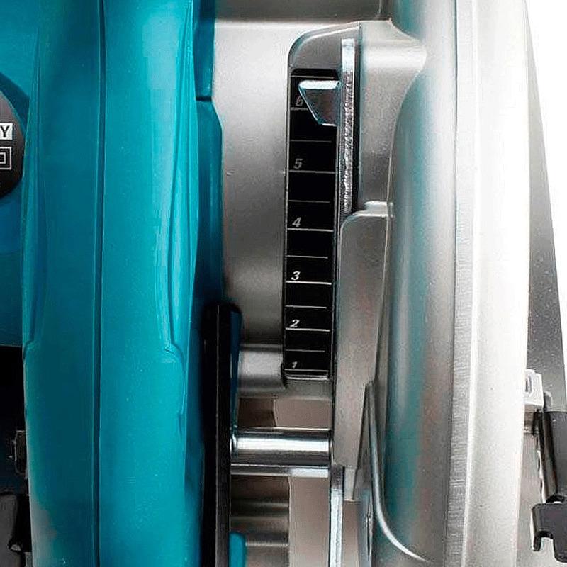 Serra Circular 185mm 1.800 Watts 5007N-P + GRATIS 2 Lâminas de Serra - Makita