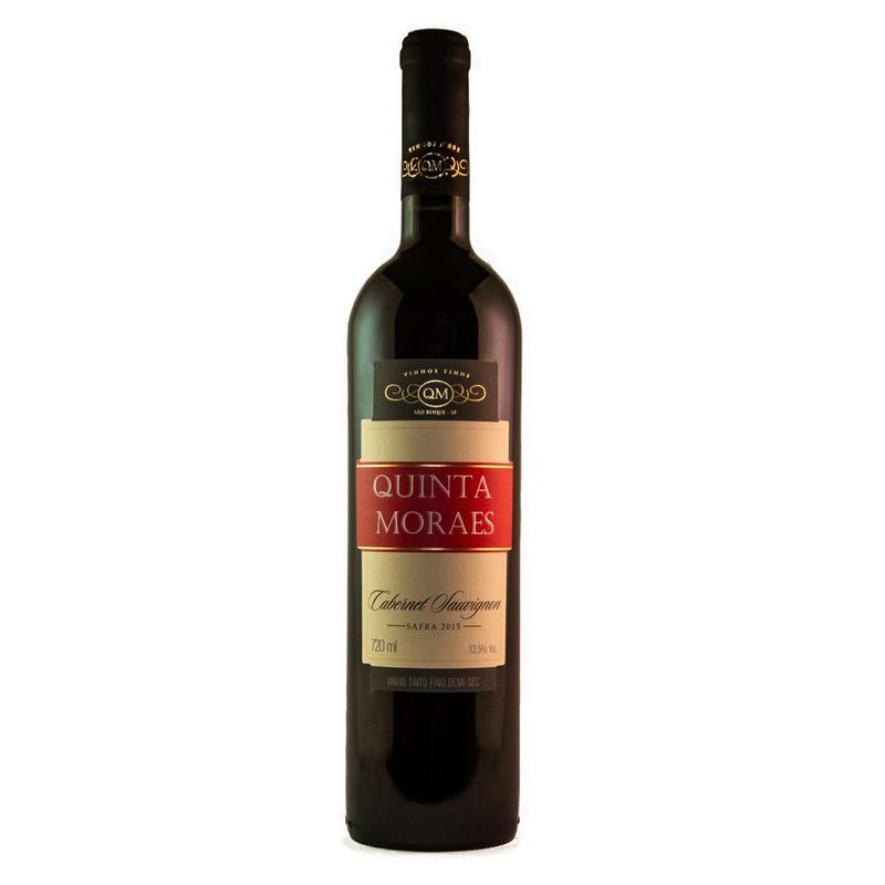 Vinho Fino Cabernet Sauvignon Demi-Sec 720ml - Quinta Moraes