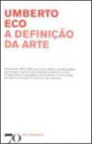 Definiçao Da Arte, A Original