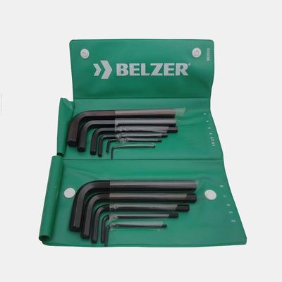 Jogo Chave Allen 1/16-1/2-12 peças-Belzer