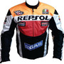 Jaqueta Honda Racing Repsol Orange Motociclista Mod.04