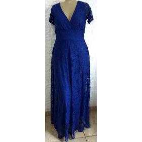 2365367ab Vestido De Renda Longo Trespasse Plus Size L094 em Matozinhos - MG ...