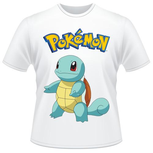Camisa Infantil Pokemon - Squirtle