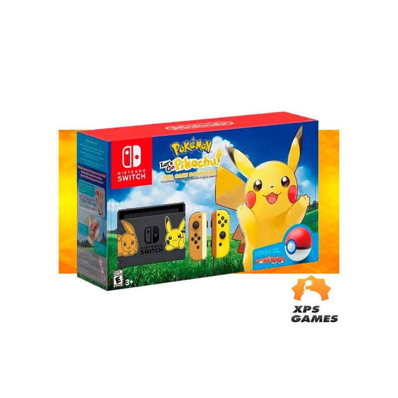 Console Nintendo Switch - Let's Go Pikachu