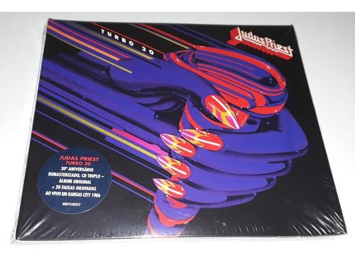 Judas Priest - Turbo 30 (3cds Digipak) Lacrado Original