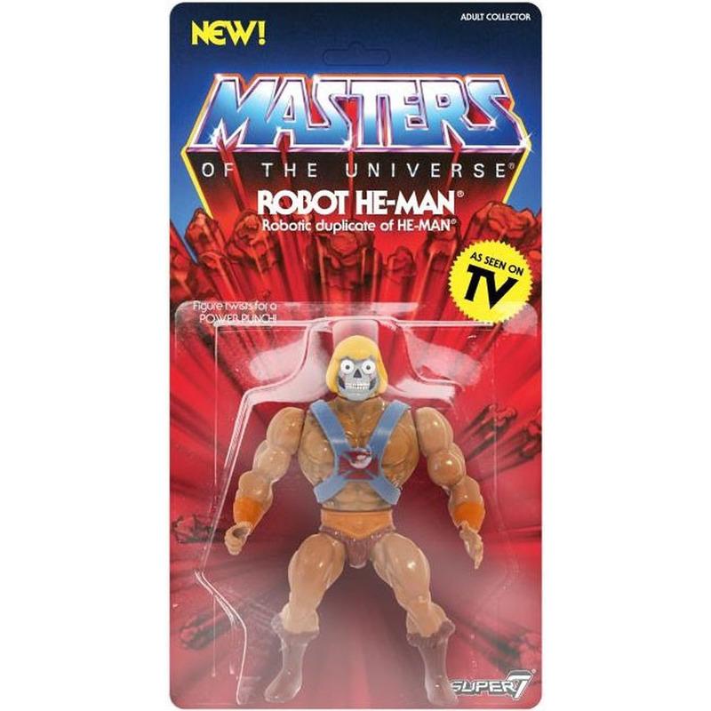 Robot He-Man Vintage Masters Of The Universe - MOTU - Super7