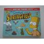 Livro The Simpsons Guide To Springfield Importado Raro
